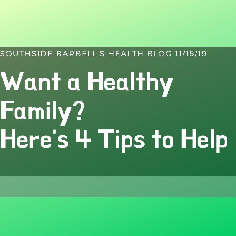 healthy family SSBB